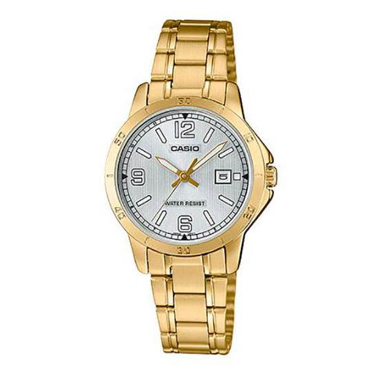 Casio นาฬิกาข้อมือ รุ่น LTP-V004G-7B2