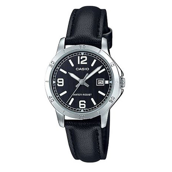 Casio นาฬิกาข้อมือ รุ่น LTP-V004L-1B