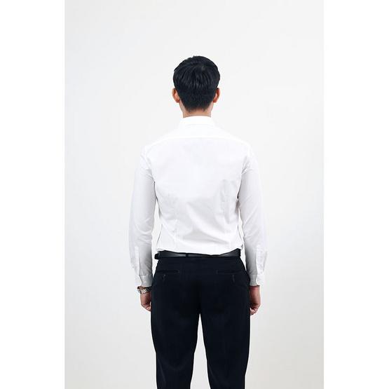 G2000 เสื้อเชิ้ตสีขาว EASY-CARE LONG SLEEVES SHIRT (SLIM FIT)
