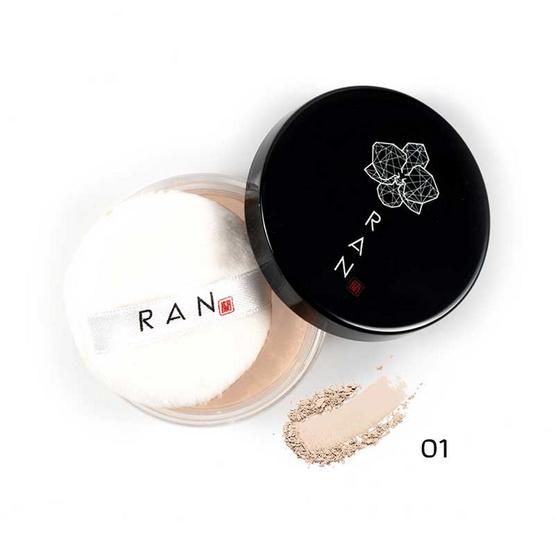 RAN แป้งฝุ่น Loose Face Powder 5 กรัม #01Ivory