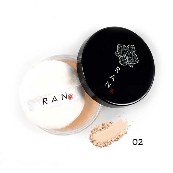 RAN แป้งฝุ่น Loose Face Powder 5 กรัม #02Natural