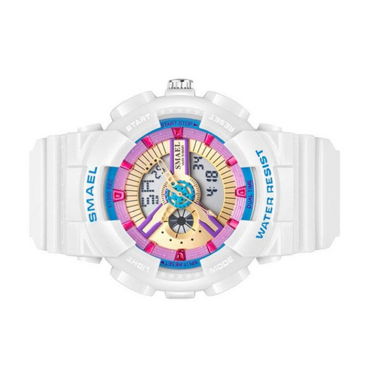 SMAEL นาฬิกาข้อมือ รุ่น SM1402-WH/BL
