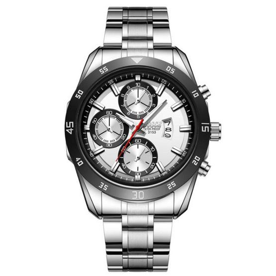 BOSCK นาฬิกาข้อมือ รุ่น BO3153-WH