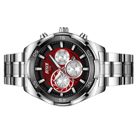 BOSCK นาฬิกาข้อมือ รุ่น BO3163-SI/RE