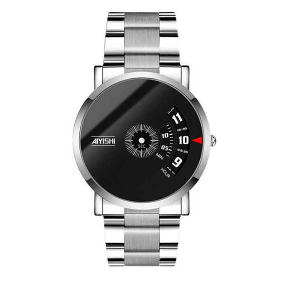 AIYISHI นาฬิกาข้อมือ รุ่น AY1620-SI/BK