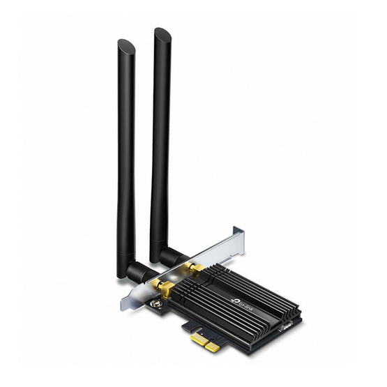 TP-Link อุปกรณ์เชื่อมต่อสัญญาณ Archer TX50E AX3000 Wi-Fi 6 Bluetooth 5.0 PCIe Adapter