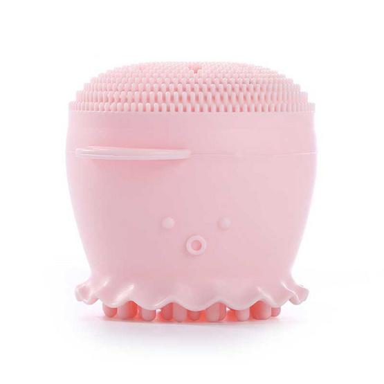 CBG Devices ซิลิโคนฟองน้ำขัดผิวหน้า Let's Scrub Sponge (สีชมพู)