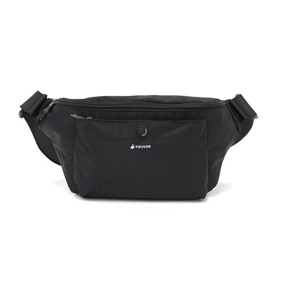 FOUVOR กระเป๋าคาดเอว กระเป๋าคาดอก รุ่น 2918-05 (สีดำ)