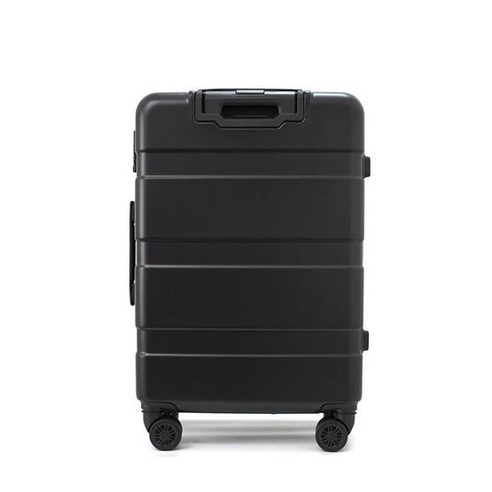 HQ LUGGAGE กระเป๋าเดินทาง ABS ระบบล็อค TSA 4 ล้อคู่ 360 รุ่น 8832 - 25 นิ้ว (สีดำ)