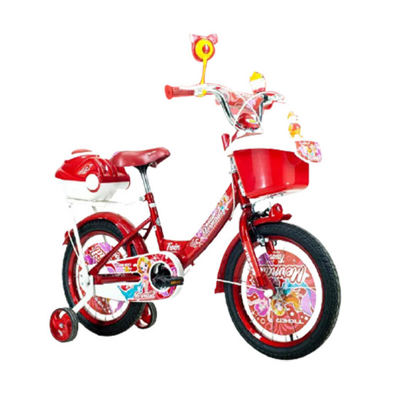 "TIGER จักรยาน รุ่น Kids bike16"" มีล้อพยุงสองข้างสำหรับเด็กหัดปั่น RD"