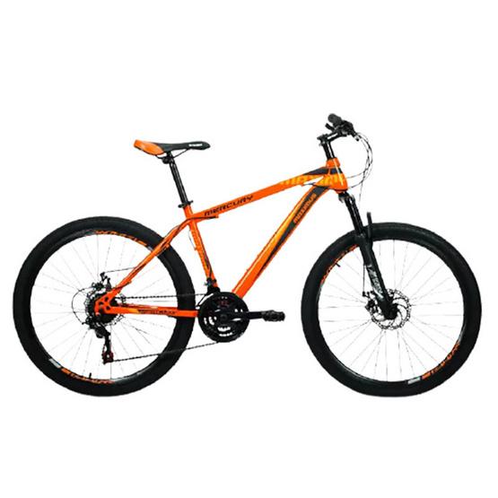 Maximus จักรยานเสือภูเขา รุ่น MERCURY 24 สปีด ล้อ 26 นิ้ว ดิสเบรคหน้า-หลัง OR/BK