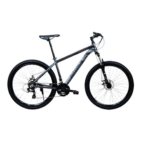 Maximus จักรยานเสือภูเขาเฟรมอลูซ่อนสาย รุ่น APOLLO 24 สปีด ล้อ 27.5 นิ้ว BK