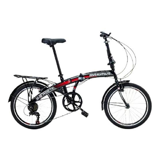 Maximus จักรยานพับ รุ่น MOVE-7S 7 สปีด ขนาดล้อ 20 นิ้ว BK