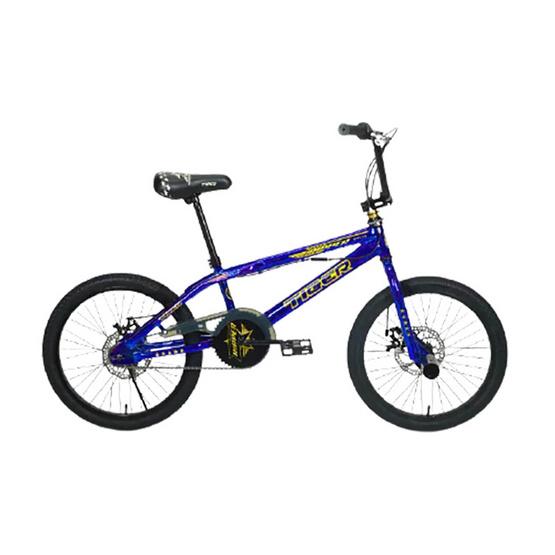 TIGER จักรยานบีเอ็มเอ็กซ์ คอหมุนได้ 360 องศา รุ่น RIPPER BMX 20 BL/GD