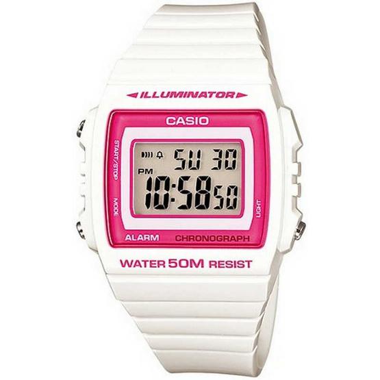 CASIO นาฬิกาข้อมือ รุ่น W215H-7A2