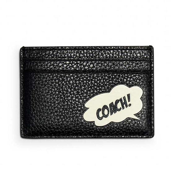 COACH 3607 COACH MARVEL CARD CASE WITH COACH BUBBLE (SVA47)