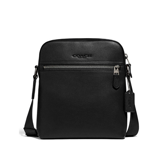 COACH F68014 HOUSTON FLIGHT BAG (QBBK)