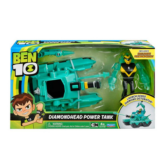 Ben10 เพลย์เซ็ต Transforming Vehicle Diamondhead