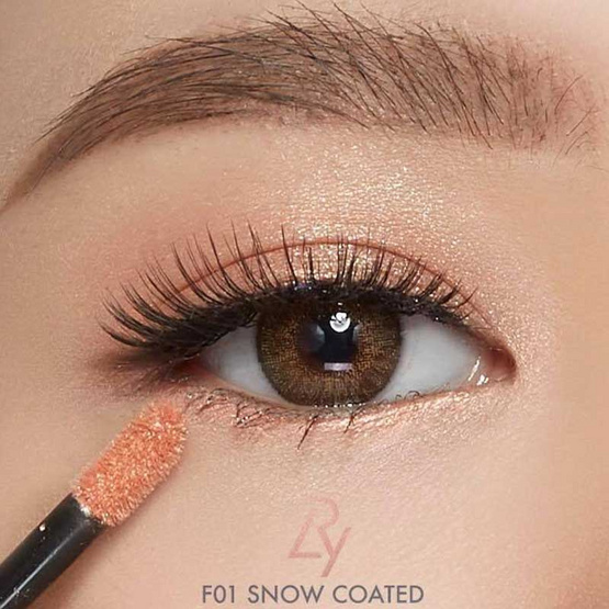 LRY Eyes & Lips Frost #F01 snow coated