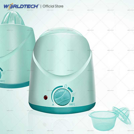 Worldtech รุ่น WT-BW HB002 เครื่องอุ่นนม ช่วยถนอมคุณค่าของสารอาหารในน้ำนม