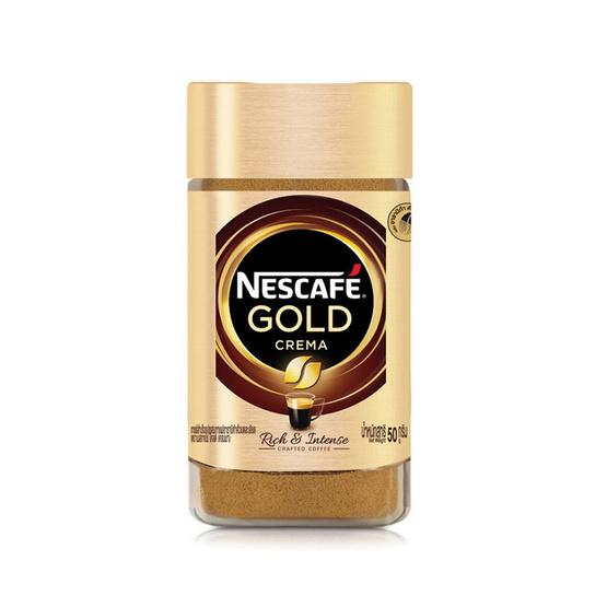 เนสกาแฟโกลด์เครมา (ขวดแก้ว) 50 กรัม