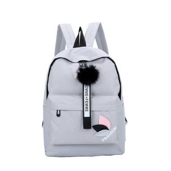 Fancybag กระเป๋าเป้ Color Travel สีเทา