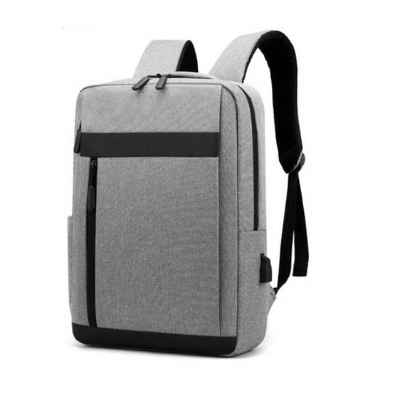 Fancybag กระเป๋าเป้ Nylon สีเทา