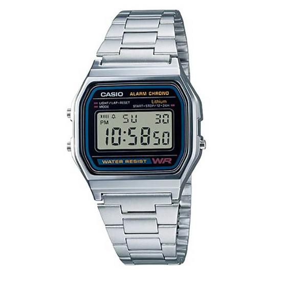 CASIO นาฬิกาข้อมือ รุ่น A158WA-1DF