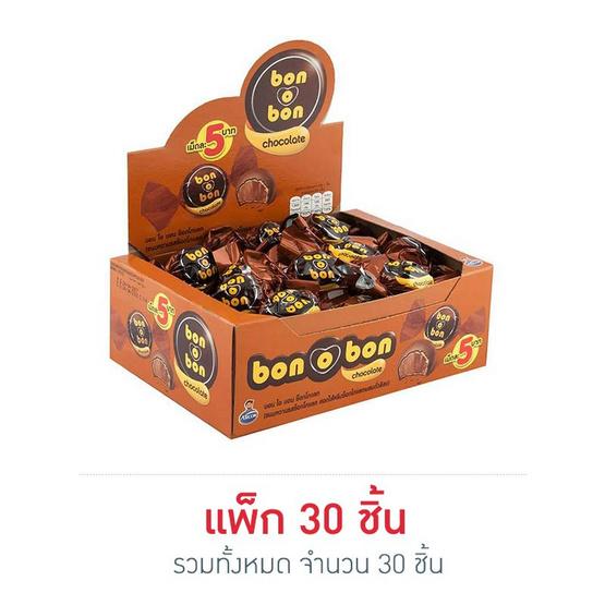 บอนโอบอน ช็อกโกแลต 14 กรัม (ยกกล่อง 30 ชิ้น)