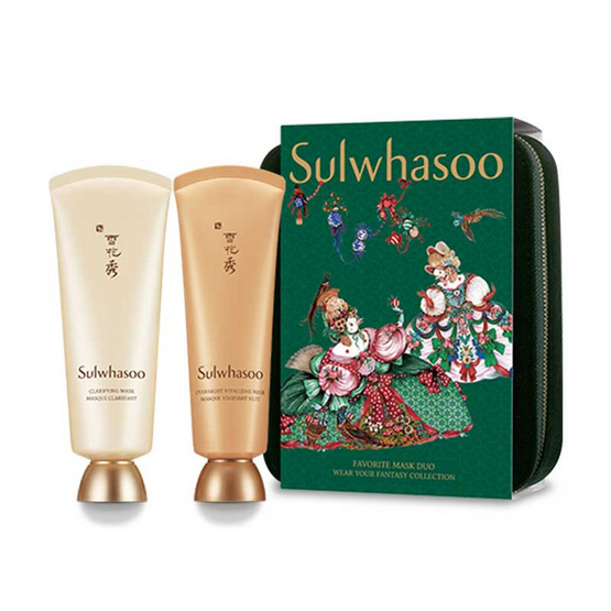 Sulwhasoo ชุดเซ็ท Favorite Mask Duo Fantasy Collection Holiday Limited (2 ชิ้น)