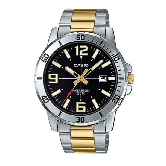 Casio นาฬิกาข้อมือ รุ่น MTP-VD01SG-1BV