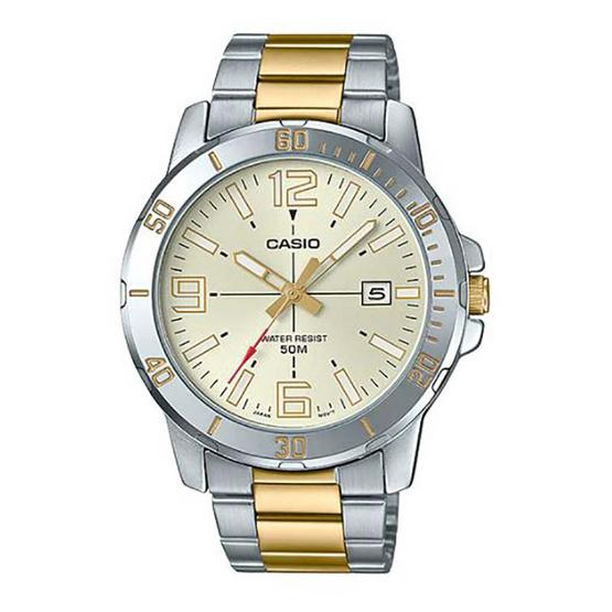 Casio นาฬิกาข้อมือ รุ่น MTP-VD01SG-9BV