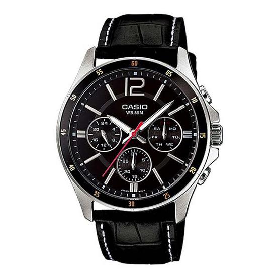 Casio นาฬิกาข้อมือ รุ่น MTP-1374L-1AV