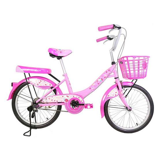 LA Bicycle จักรยานเด็ก รุ่น Hello Kitty 20 นิ้ว ลาย PINK STRAWBERRY CAKE