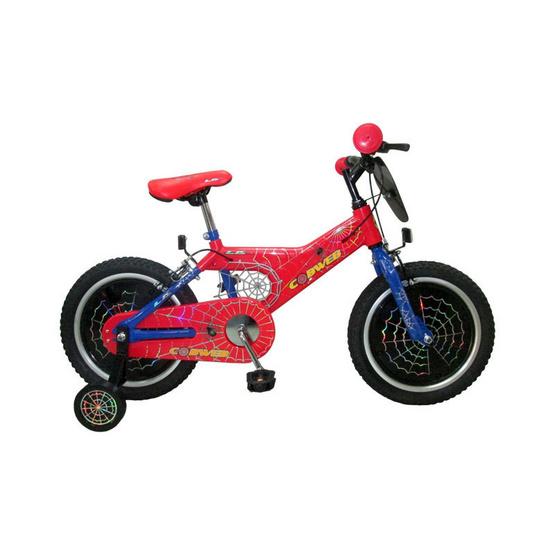 LA Bicycle จักรยานเด็ก รุ่น COBWEB 16 นิ้ว  สีแดง/น้ำเงิน