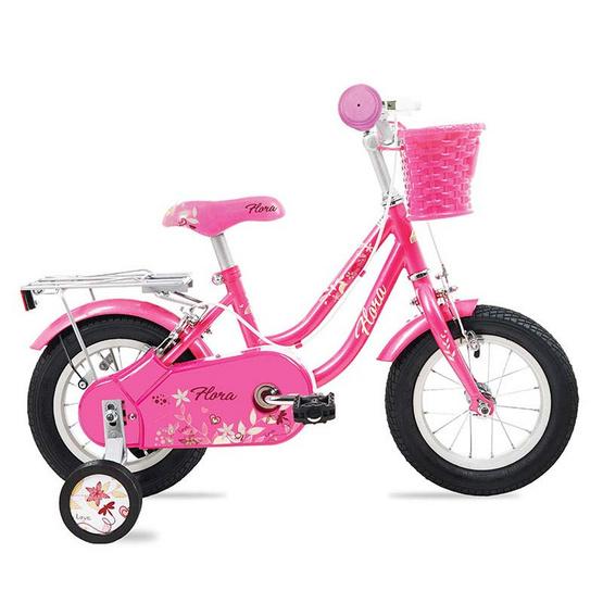 LA Bicycle จักรยานเด็ก รุ่น FLORA 12 นิ้ว  สีชมพู