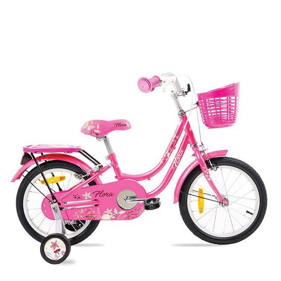 LA Bicycle จักรยานเด็ก รุ่น FLORA 16 นิ้ว  สีชมพู