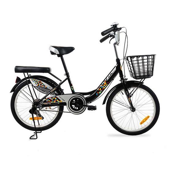 LA Bicycle จักรยานแม่บ้าน รุ่น DAWN CITY 1.0  20 นิ้ว สีดำ