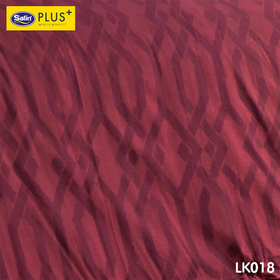 Satin Plus Luckyme ชุดผ้าปูที่นอน 6 ฟุต 5 ชิ้น ลาย LK018