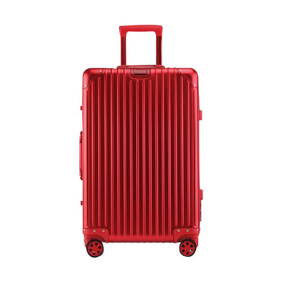 แบ็กส์เก็จส์ ลักเก็จส์ คลาสสิคอลูมิเนียม ขนาด 20 นิ้ว สีแดง