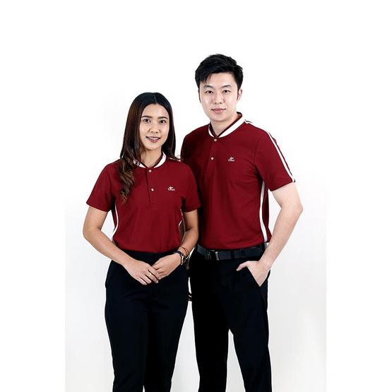 CP ALL เสื้อโปโลชาย Upcycling สีแดง