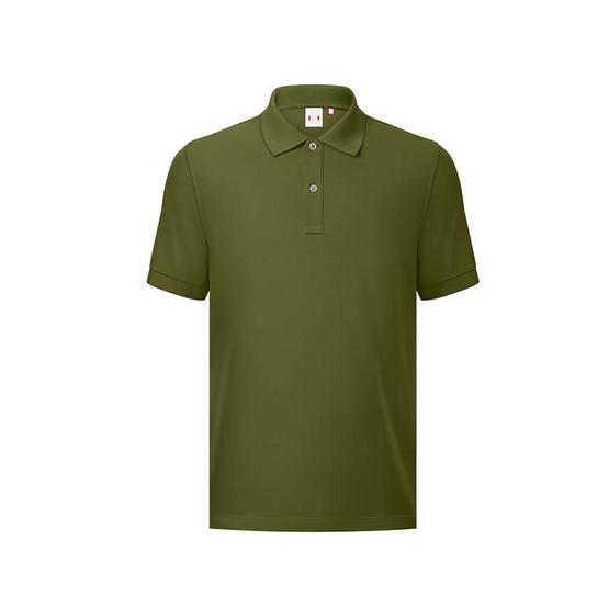 GQ เสื้อโปโล สี Olive