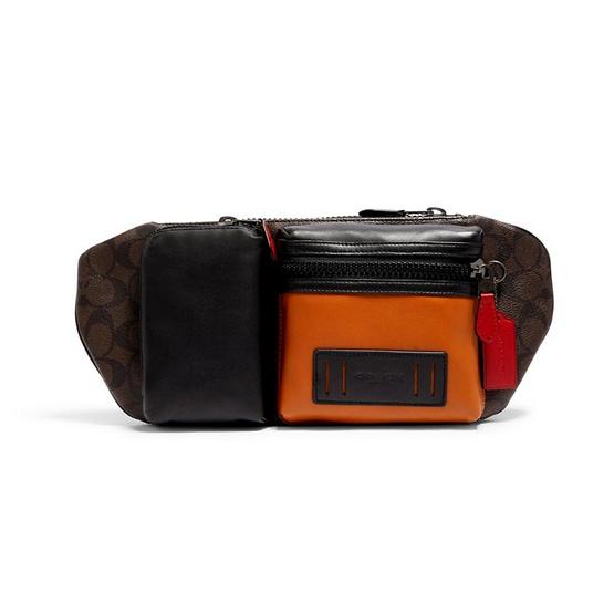 COACH C2060  RIDER BELT BAG IN SIGNATURE CANVAS (QBS7S)