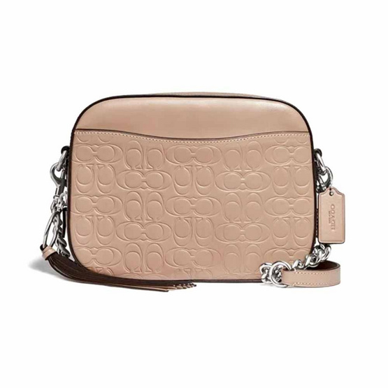 COACH 1033 Camera Bag In Signature Leather (LHTAU)
