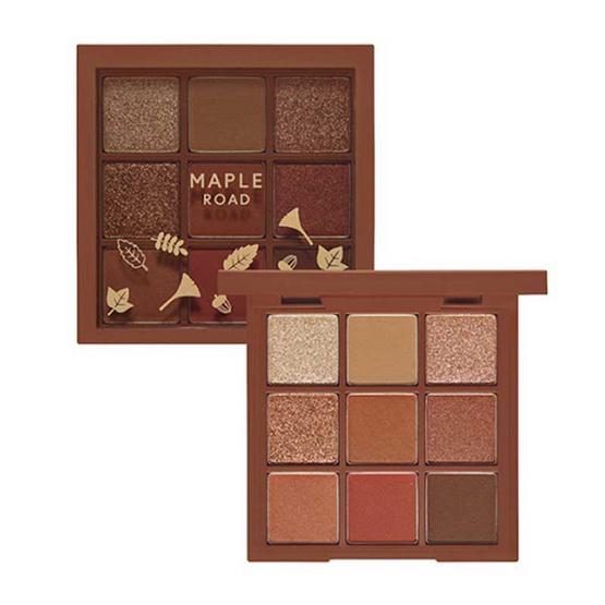 Etude อายแชโดว์พาเลท Play Color Eye Palette #Maple Road