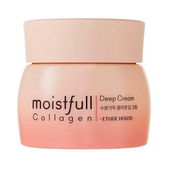 Etude ครีมบำรุงผิว Moistfull Collagen Deep Cream 75 มล.