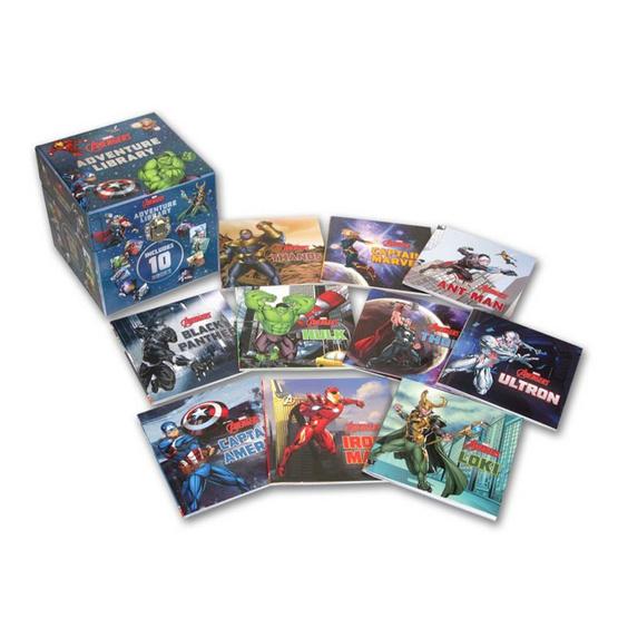 Marvel Avengers Adventure Library (Storytime Library Marvel)