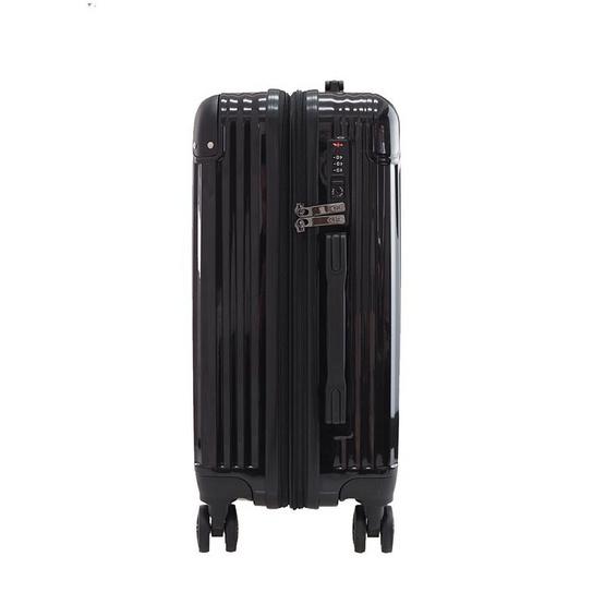 HQ LUGGAGE กระเป๋าเดินทาง PC ระบบล็อค TSA 4 ล้อคู่ รุ่น 8845 - 20 นิ้ว (สีดำ)