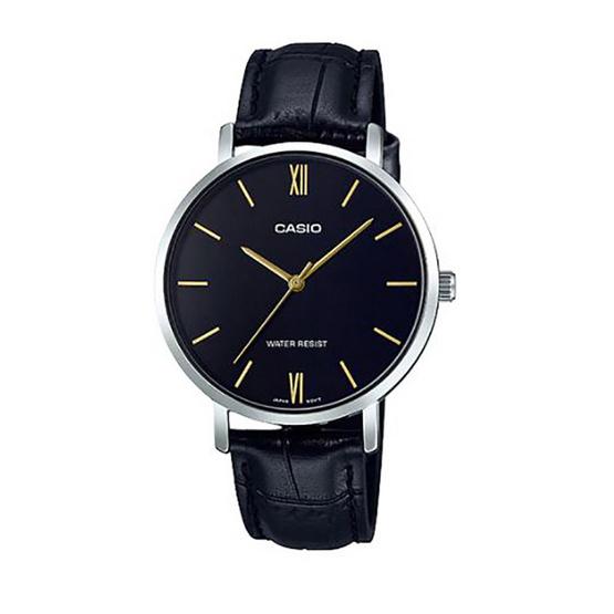 Casio นาฬิกาข้อมือ รุ่น LTP-VT01L-1B