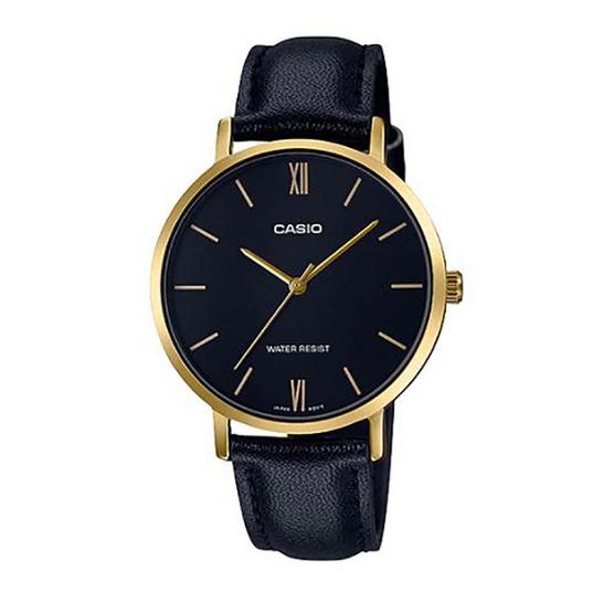 Casio นาฬิกาข้อมือ รุ่น LTP-VT01GL-1B